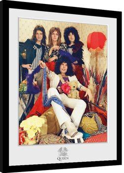 Queen - Band Poster Emoldurado