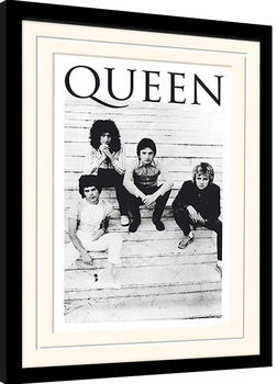Queen - Brazil 81 Poster Emoldurado