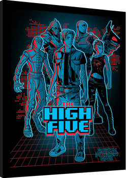 Ready Player One - The High Five Poster Emoldurado