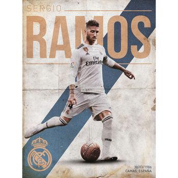 Reprodução do quadro  Real Madrid - Ramos