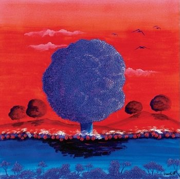 Reprodução do quadro Red Sunset