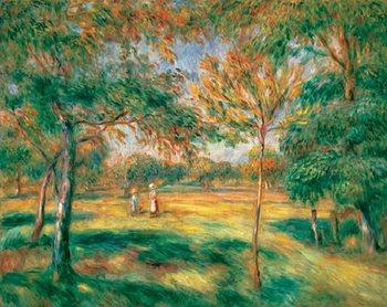 Reprodução do quadro Renoir -The Clearing, 1895