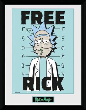 Rick and Morty - Free Rick Poster Emoldurado