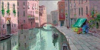 Reprodução do quadro Rio di Santa Fosca, Venice