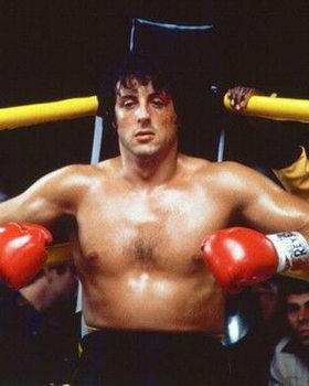 Reprodução do quadro  Rocky II.