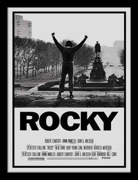 Rocky - Rocky I Poster Emoldurado