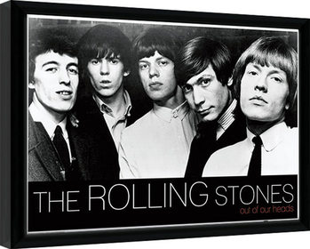 Rolling Stones - Out Of Our Heads Poster Emoldurado
