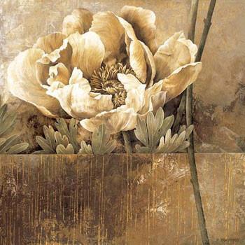 Reprodução do quadro Rustic Garden II