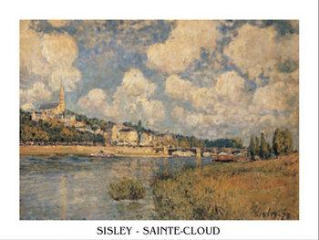 Reprodução do quadro Saint-Cloud