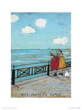 Reprodução do quadro  Sam Toft - Her Favourite Cloud