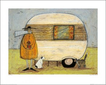Reprodução do quadro Sam Toft - Home From Home