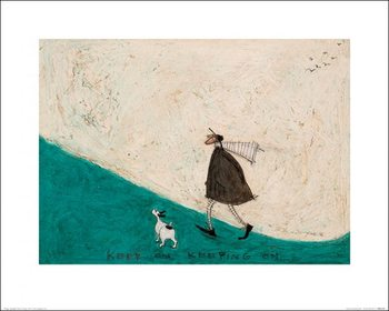 Reprodução do quadro  Sam Toft - Keep On Keeping On