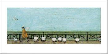 Reprodução do quadro Sam Toft - Moses Follows That Picnic Basket