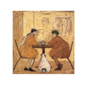Reprodução do quadro  Sam Toft - Tea For Three