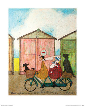 Reprodução do quadro Sam Toft - There may be Better Ways to Spend an Afternoon...