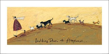 Reprodução do quadro Sam Toft - Walking Down To Happiness