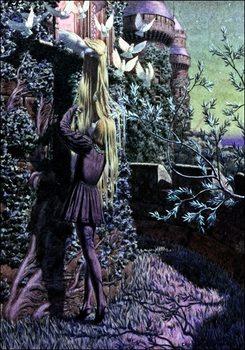 Reprodução do quadro Schwabe - Pelleas Et Melisande