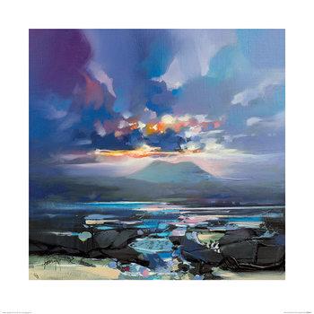 Reprodução do quadro  Scott Naismith - West Coast Blues III
