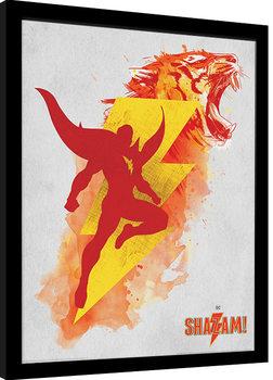 Shazam - Shazam's Might Poster Emoldurado