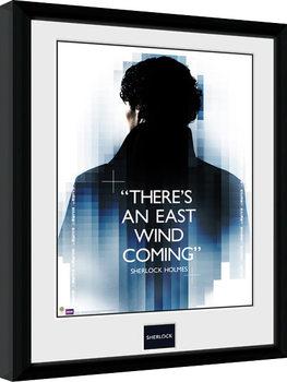 Sherlock - East Wind Poster Emoldurado