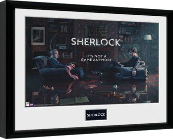 Sherlock - Rising Tide Poster Emoldurado