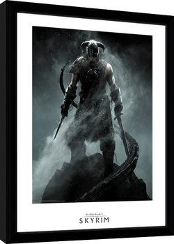 Skyrim - Dragon Born Poster Emoldurado