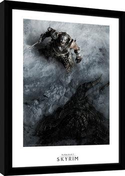Skyrim - Shout Poster Emoldurado