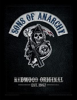 Sons of Anarchy - Cut Poster Emoldurado
