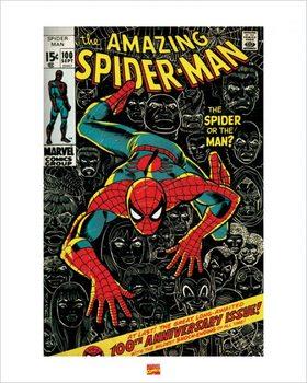 Reprodução do quadro Spider-Man