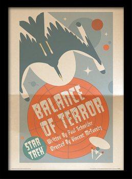 Star Trek - Balance Of Terror Poster Emoldurado