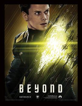 Star Trek Beyond - Chekov Poster Emoldurado