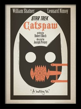 Star Trek - Catspaw Poster Emoldurado