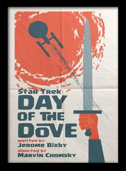 Star Trek - Day Of The Dove Poster Emoldurado