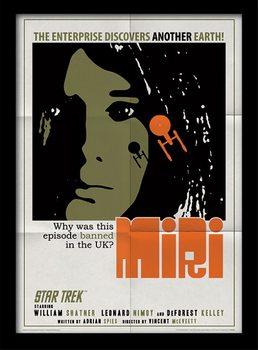 Star Trek - Miri Poster Emoldurado