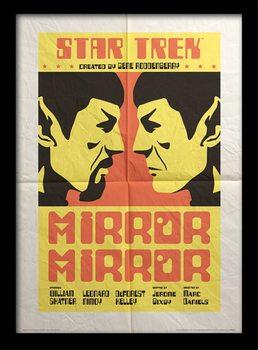 Star Trek - Mirror Mirror Poster Emoldurado