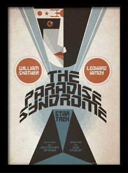 Star Trek - The Paradise Syndrome Poster Emoldurado
