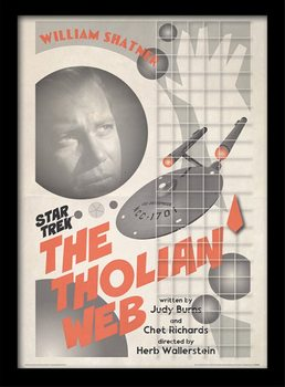 Star Trek - The Tholian Web Poster Emoldurado