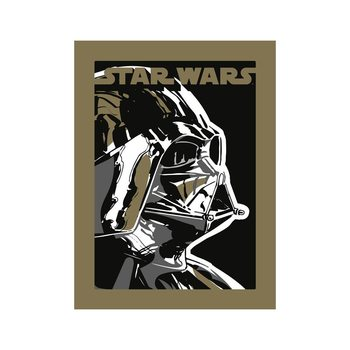 Reprodução do quadro  Star Wars - Darth Vader