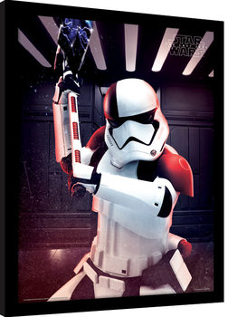 Star Wars The Last Jedi - Executioner Trooper Poster Emoldurado