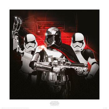 Reprodução do quadro  Star Wars The Last Jedi - Stormtrooper Team