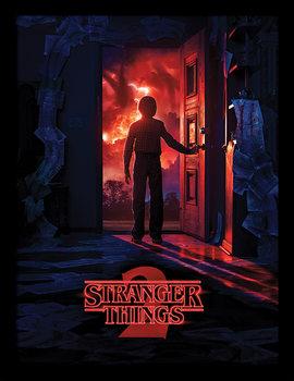 Stranger Things - Doorway Poster Emoldurado