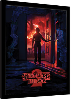 Stranger Things - Doorway Poster Emoldurado