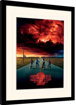 Stranger Things - Mind Flayer Poster Emoldurado