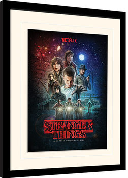 Stranger Things - One Sheet Poster Emoldurado