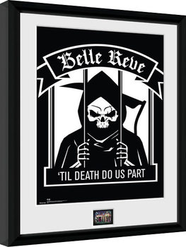 Suicide Squad - Belle Reve Poster Emoldurado