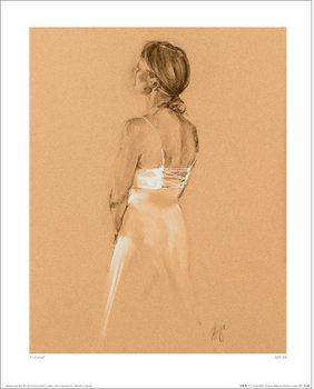 Reprodução do quadro T. Good - Silk III