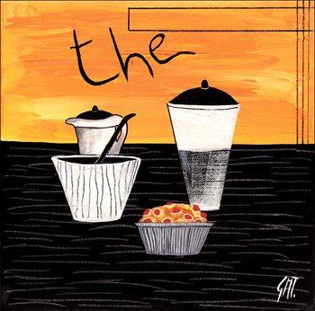 Reprodução do quadro Tea (Thè)