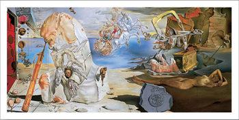 Reprodução do quadro  The Apotheosis of Homer, 1944-45