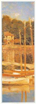 Reprodução do quadro The Argenteuil Bridge, 1874 (part)