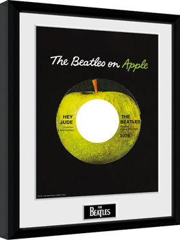 The Beatles - Apple Poster Emoldurado